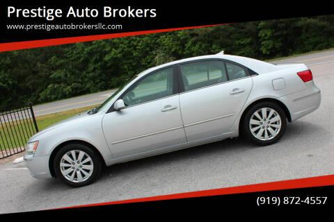 2009 Hyundai Sonata for sale at Prestige Auto Brokers in Raleigh NC