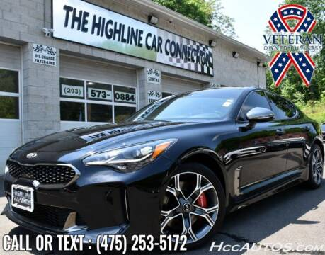 2018 Kia Stinger for sale at The Highline Car Connection in Waterbury CT