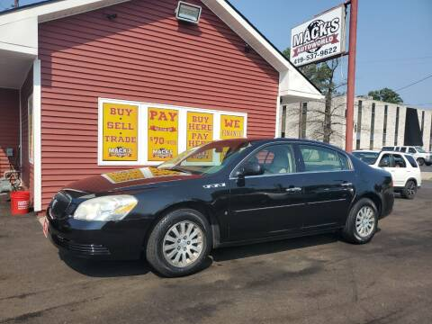 2006 Buick Lucerne for sale at Mack's Autoworld in Toledo OH