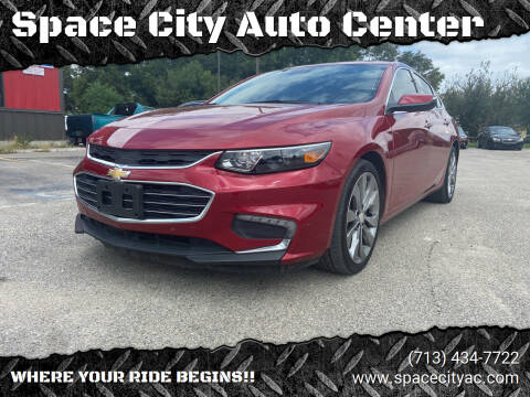 2016 Chevrolet Malibu for sale at Space City Auto Center in Houston TX