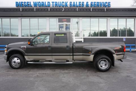 2008 Ford F-350 Super Duty for sale at Diesel World Truck Sales in Plaistow NH