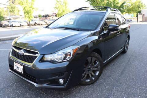 2015 Subaru Impreza for sale at California Auto Sales in Auburn CA