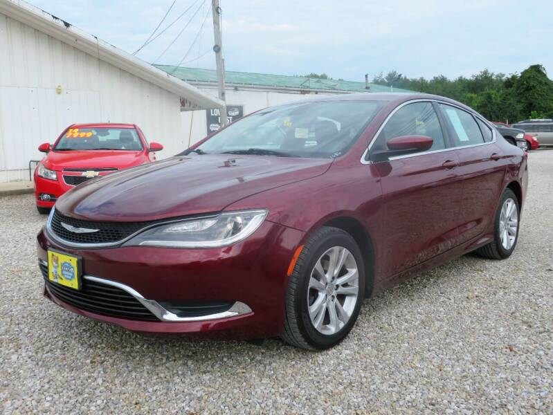 2015 Chrysler 200 for sale at Low Cost Cars in Circleville OH