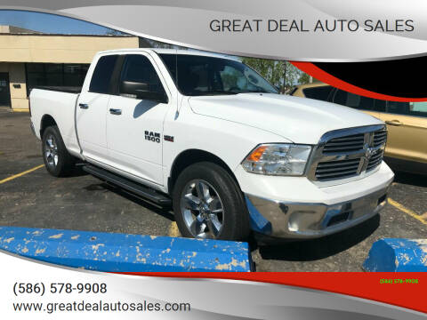 2013 RAM Ram Pickup 1500 for sale at GREAT DEAL AUTO SALES in Center Line MI