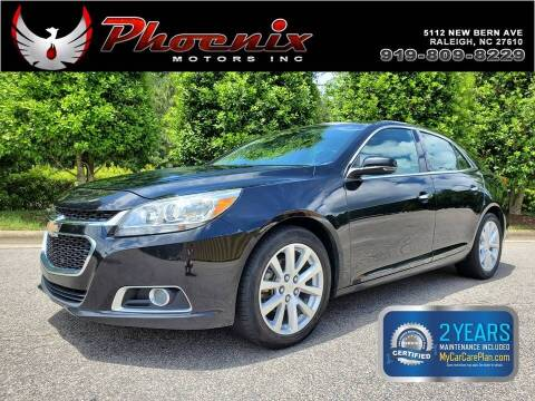 2016 Chevrolet Malibu Limited for sale at Phoenix Motors Inc in Raleigh NC
