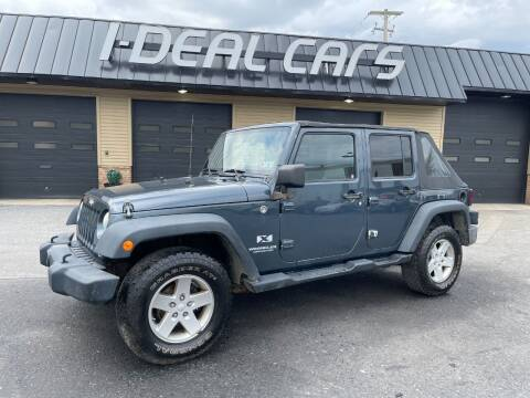 2008 Jeep Wrangler Unlimited for sale at I-Deal Cars in Harrisburg PA