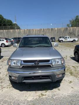 2002 Toyota 4Runner for sale at J D USED AUTO SALES INC in Doraville GA