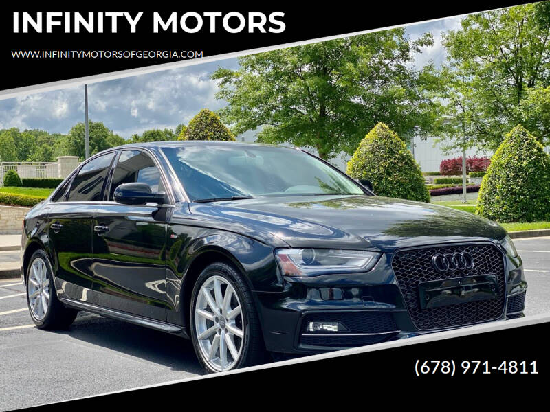 2014 Audi A4 for sale at INFINITY MOTORS in Gainesville GA