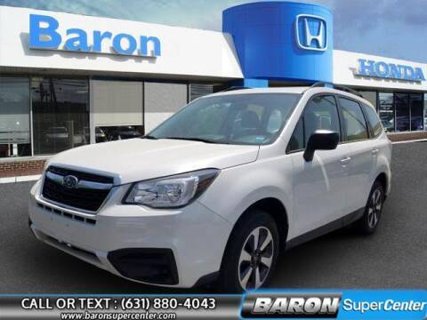 2018 Subaru Forester for sale at Baron Super Center in Patchogue NY