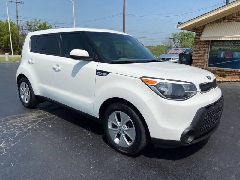 2016 Kia Soul for sale at Browning's Reliable Cars & Trucks in Wichita Falls TX