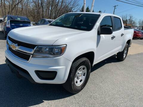 2016 Chevrolet Colorado for sale at Sam's Auto in Akron PA