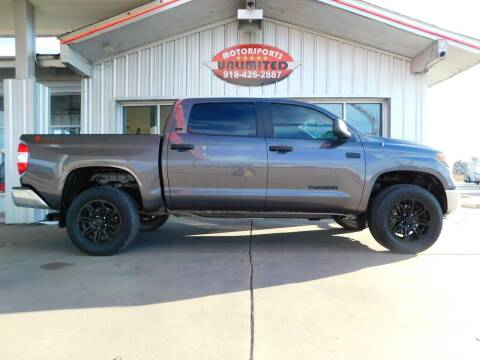 2018 Toyota Tundra for sale at Motorsports Unlimited in McAlester OK