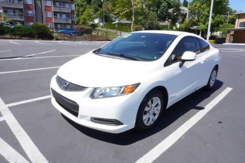 2012 Honda Civic for sale at Precision Motors LLC in Renton WA