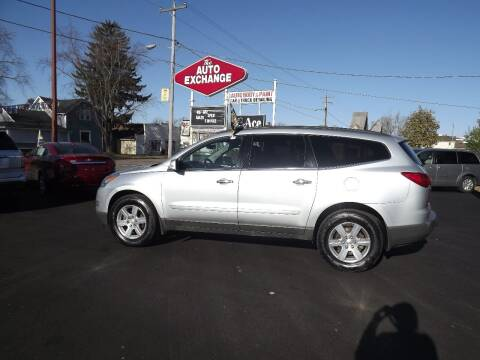 2012 Chevrolet Traverse for sale at The Auto Exchange in Stevens Point WI