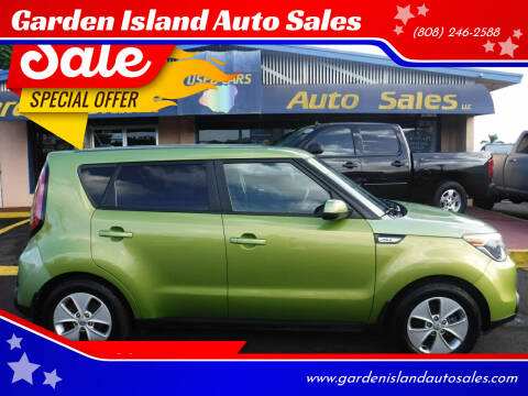 2015 Kia Soul for sale at Garden Island Auto Sales in Lihue HI
