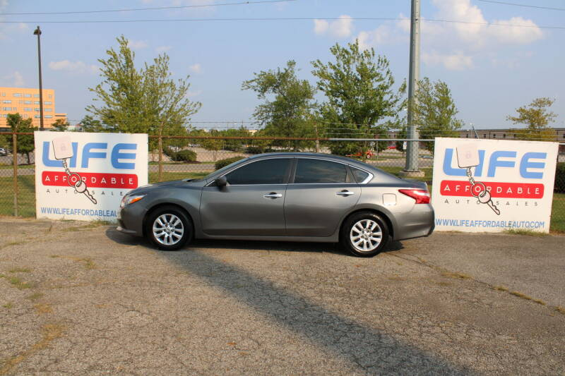 2016 Nissan Altima for sale at LIFE AFFORDABLE AUTO SALES in Columbus OH