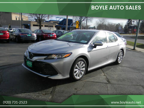 2020 Toyota Camry for sale at Boyle Auto Sales in Appleton WI