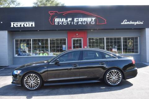 2016 Audi A6 for sale at Gulf Coast Exotic Auto in Biloxi MS