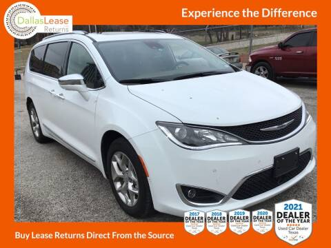 2018 Chrysler Pacifica for sale at Dallas Auto Finance in Dallas TX