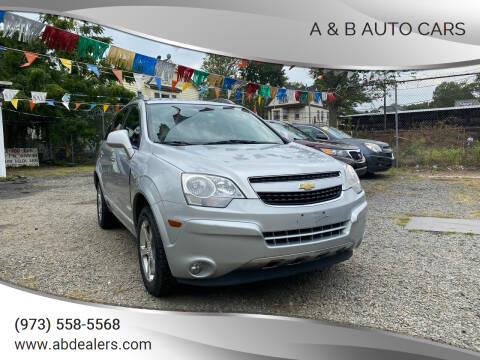 2012 Chevrolet Captiva Sport for sale at A & B Auto Cars in Newark NJ