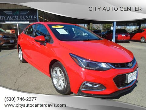 2017 Chevrolet Cruze for sale at City Auto Center in Davis CA