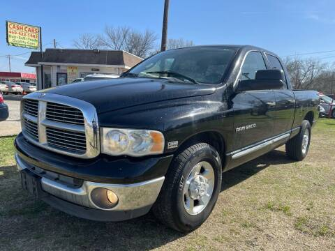 2004 Dodge Ram Pickup 2500 for sale at Texas Select Autos LLC in Mckinney TX