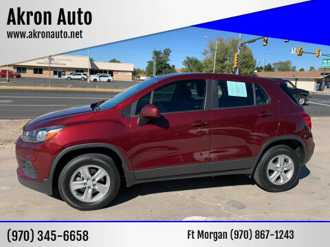 2017 Chevrolet Trax for sale at Akron Auto in Akron CO