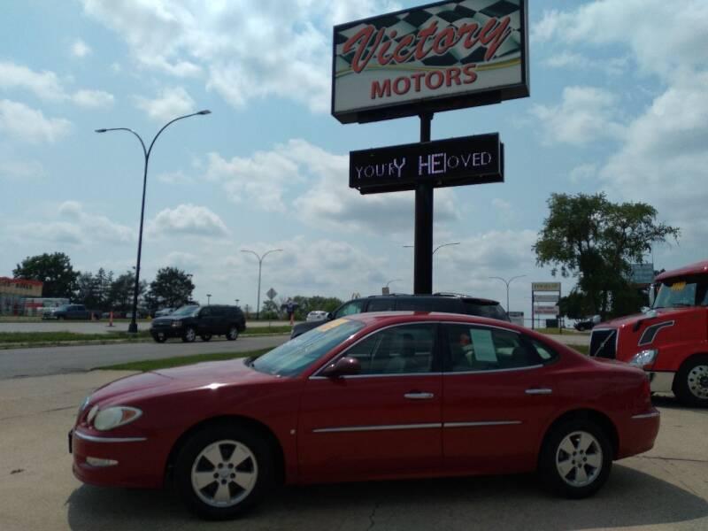 2008 Buick LaCrosse for sale at Victory Motors in Waterloo IA