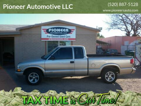 2000 Chevrolet S-10 for sale at Pioneer Automotive LLC in Tucson AZ