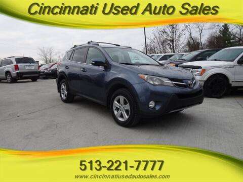 2013 Toyota RAV4 for sale at Cincinnati Used Auto Sales in Cincinnati OH