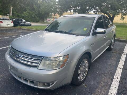 2009 Ford Taurus for sale at Florida Prestige Collection in Saint Petersburg FL
