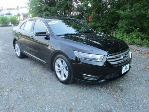 2016 Ford Taurus for sale at MC FARLAND FORD in Exeter NH