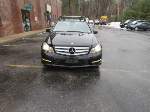 2012 Mercedes-Benz C-Class for sale at Heritage Truck and Auto Inc. in Londonderry NH