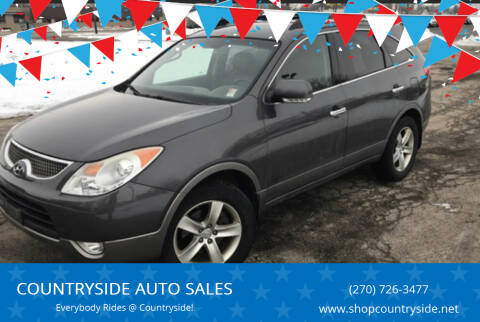 2010 Hyundai Veracruz for sale at COUNTRYSIDE AUTO SALES in Russellville KY