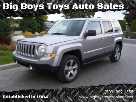 2017 Jeep Patriot for sale at Big Boys Toys Auto Sales in Spokane Valley WA