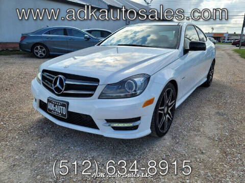 2015 Mercedes-Benz C-Class for sale at ADK AUTO SALES LLC in Austin TX