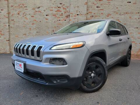 2015 Jeep Cherokee for sale at GTR Auto Solutions in Newark NJ