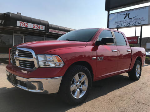2017 RAM Ram Pickup 1500 for sale at NORRIS AUTO SALES in Oklahoma City OK