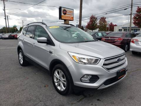 2018 Ford Escape for sale at Cars 4 Grab in Winchester VA