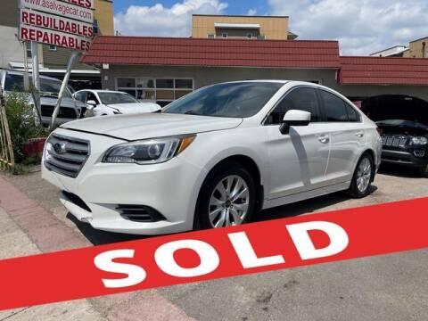2017 Subaru Legacy for sale at ELITE MOTOR CARS OF MIAMI in Miami FL