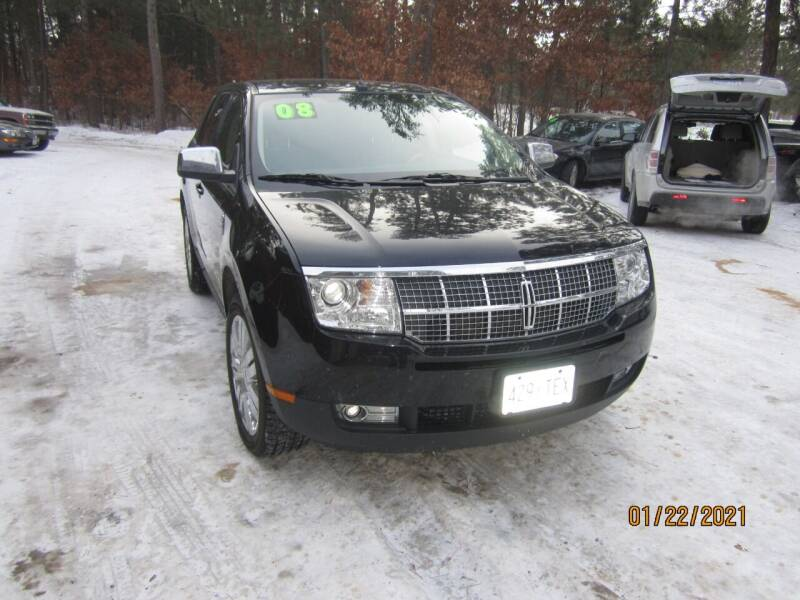 2008 Lincoln MKX for sale at SUNNYBROOK USED CARS in Menahga MN