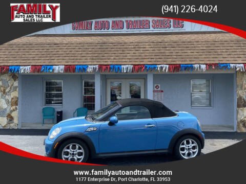 2013 MINI Roadster for sale at Family Auto and Trailer Sales LLC in Port Charlotte FL