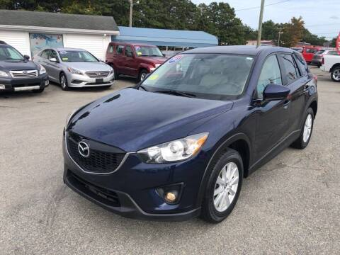 2013 Mazda CX-5 for sale at U FIRST AUTO SALES LLC in East Wareham MA