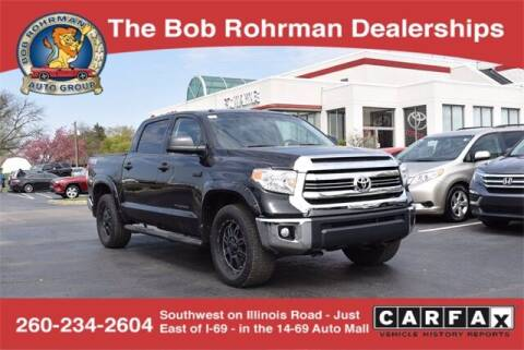 2017 Toyota Tundra for sale at BOB ROHRMAN FORT WAYNE TOYOTA in Fort Wayne IN