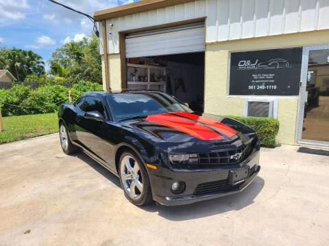 2013 Chevrolet Camaro for sale at O & J Auto Sales in Royal Palm Beach FL