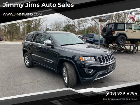 2014 Jeep Grand Cherokee for sale at Jimmy Jims Auto Sales in Tabernacle NJ