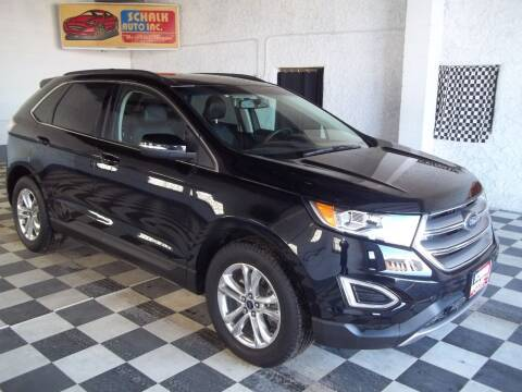 2017 Ford Edge for sale at Schalk Auto Inc in Albion NE