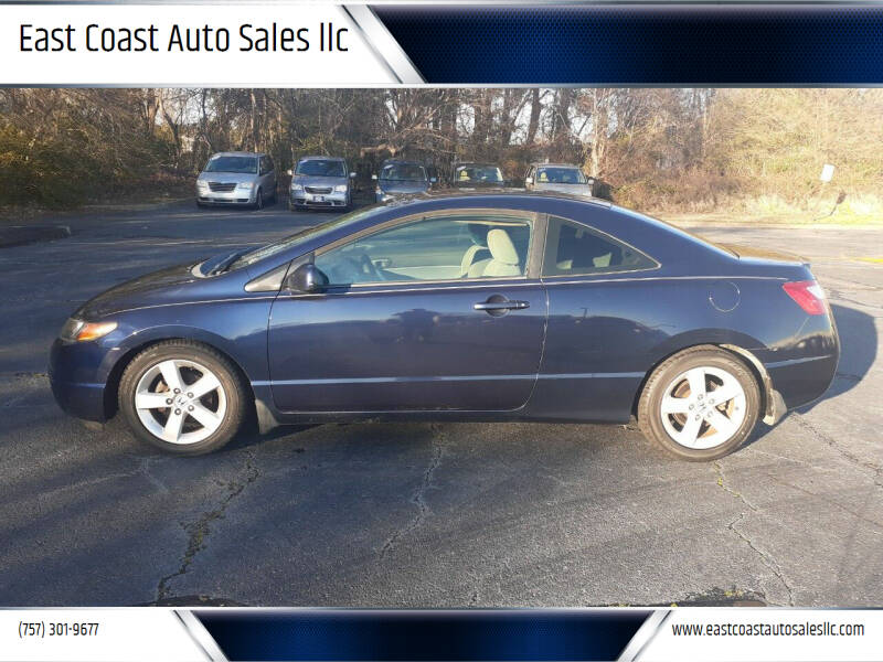 2007 Honda Civic for sale at East Coast Auto Sales llc in Virginia Beach VA