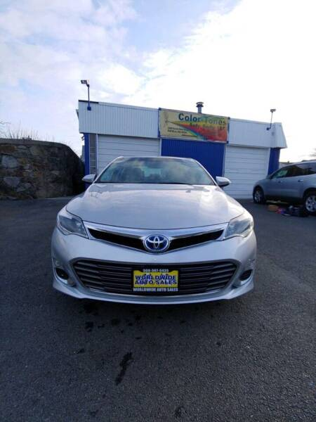2014 Toyota Avalon Hybrid for sale at Worldwide Auto Sales in Fall River MA