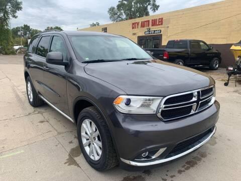 2014 Dodge Durango for sale at City Auto Sales in Roseville MI